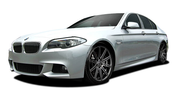 Vaero 109886 | BMW 5 Series 535i F10 Vaero M Sport Look Body Kit ( without PDC, with Side Cameras ) 5-Piece; 2011-2016