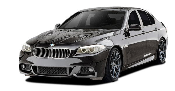 Vaero 109889: 2011-2016 BMW 5 Series 550i F10 Vaero M Sport Look Body Kit ( without PDC , with Side Cameras ) - 5 Piece