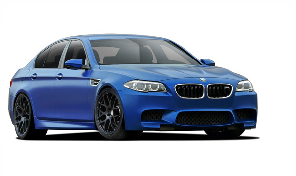 Vaero 109890: 2011-2016 BMW 5 Series F10  M5 Look Conversion Kit ( with PDC , with Washer , with Camera ) - 6 Piece