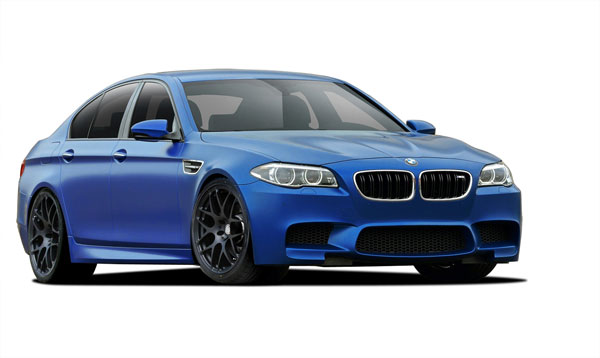 Vaero 109891: 2011-2016 BMW 5 Series F10 Vaero M5 Look Conversion Kit ( with PDC , with Washer , without Camera ) - 6 Piece