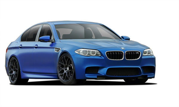 Vaero 109892: 2011-2016 BMW 5 Series F10  M5 Look Conversion Kit ( without PDC , with Washer , without Camera ) - 6 Piece