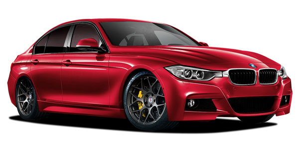 Vaero 109893 | BMW 3 Series 320i F30 Vaero M Sport Look Kit ( with PDC, with Park Aid, with Washer, with Camera ) 5-Piece; 2012-2016