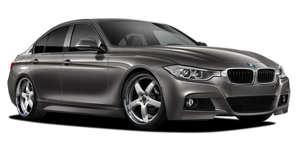 Vaero 109897 | 2012-2016 BMW 3 Series 335i F30 Vaero M Sport Look Kit ( with PDC , with Park Aid , with Washer , with Camera ) - 5 Piece