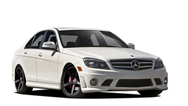 Vaero 109901: 2008-2011 Mercedes C Class W204 Vaero C63 Look Conversion Kit ( with PDC ) - 8 Piece