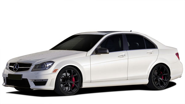 Vaero 109905: 2012-2014 Mercedes C Class C350 W204  C63 Look Conversion Kit ( with PDC ) - 9 Piece