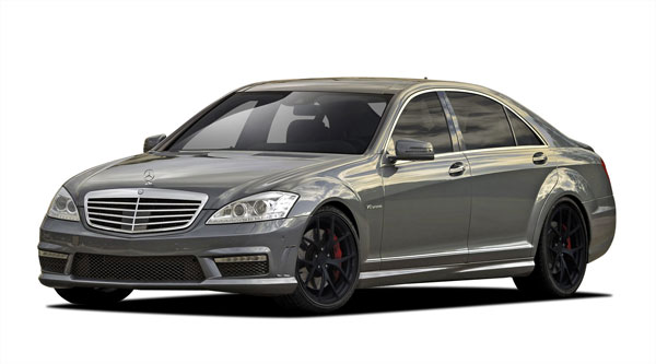 Vaero 109909: 2010-2013 Mercedes S Class W221 Vaero S63 Look Kit ( with PDC ) - 4 Piece