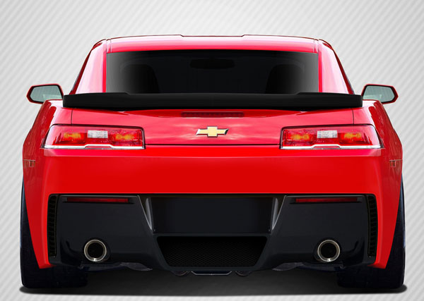 Carbon Creations 109925 | Chevrolet Camaro Carbon Creations Stingray Z Look Rear Wing Trunk Lid Spoiler 2-Piece; 2014-2015