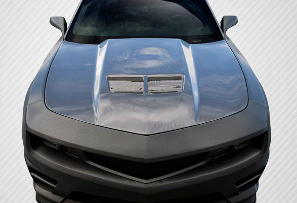 Carbon Creations 109926 | 2010-2015 Chevrolet Camaro Carbon Creations Stingray Z Look Hood - 1 Piece