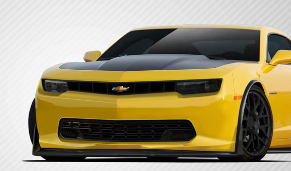 Carbon Creations 109927: 2010-2015 Chevrolet Camaro Carbon Creations Stingray Z Look Front Lip Spoiler - 1 Piece