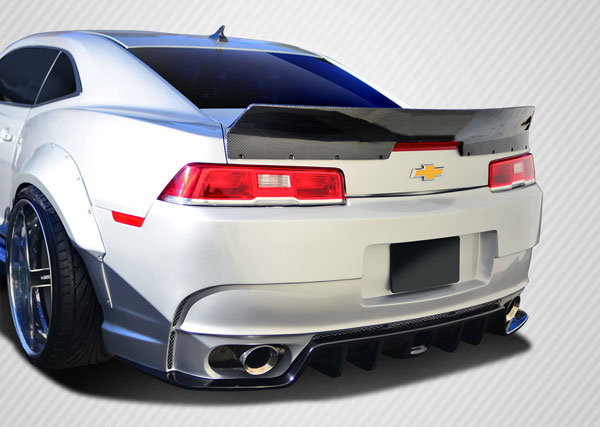 Carbon Creations 109928: 2014-2015 Chevrolet Camaro Carbon Creations GT Concept Rear Wing Trunk Lid Spoiler - 1 Piece