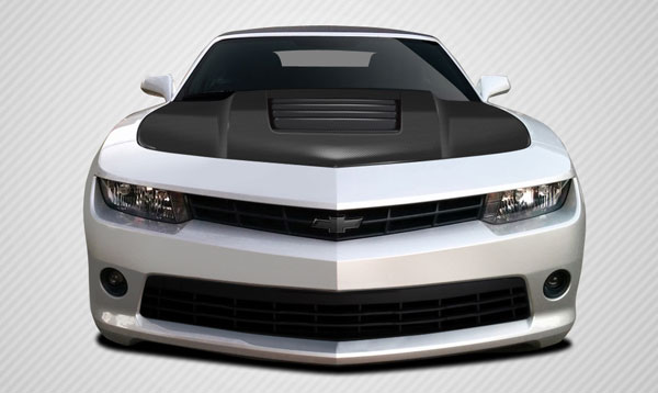Carbon Creations 109929: 2010-2015 Chevrolet Camaro Carbon Creations GT Concept Hood - 1 Piece