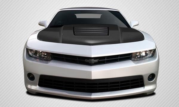 Carbon Creations 109929 | Chevrolet Camaro Carbon Creations GT Concept Hood 1-Piece; 2010-2015