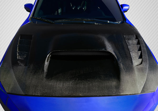 Carbon Creations 109931: 2015-2016 Subaru WRX Carbon Creations NBR Concept Hood - 1 Piece