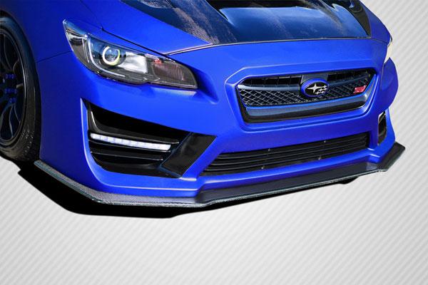 Carbon Creations 109932 | Subaru WRX Carbon Creations NBR Concept Front Splitter 1-Piece; 2015-2016