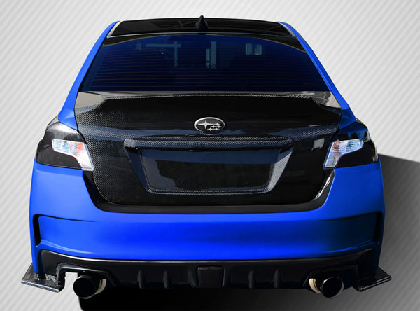 Carbon Creations 109935 | Subaru WRX Carbon Creations NBR Concept Trunk 1-Piece; 2015-2016