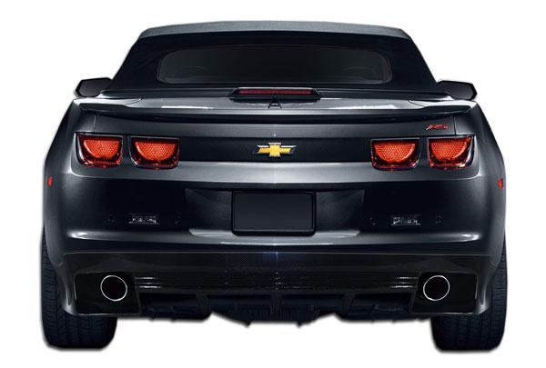 Carbon Creations 106818 | Chevrolet Camaro Carbon Creations GM-X Rear Lip Under Spoiler Air Dam 1-Piece; 2010-2013