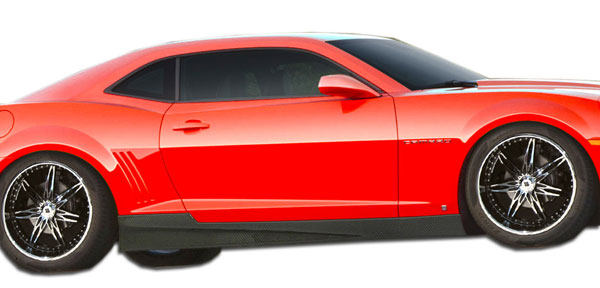 Carbon Creations 106816 | Chevrolet Camaro Carbon Creations GM-X Side Skirts Rocker Panels 2-Piece; 2010-2015