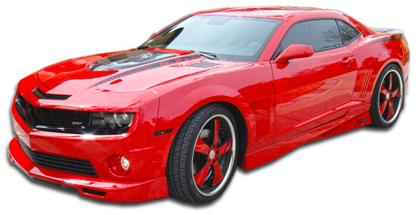Duraflex 105983 | Chevrolet Camaro Duraflex Racer Side Skirts Rocker Panels 2-Piece; 2010-2015