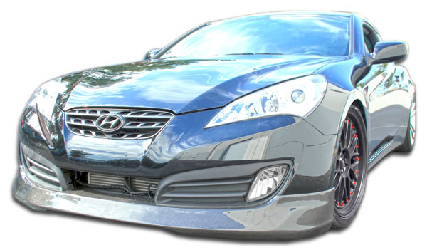 Carbon Creations 105975 | 2010-2012 Hyundai Genesis 2DR Carbon Creations MS-R Front Lip Under Spoiler Air Dam - 1 Piece