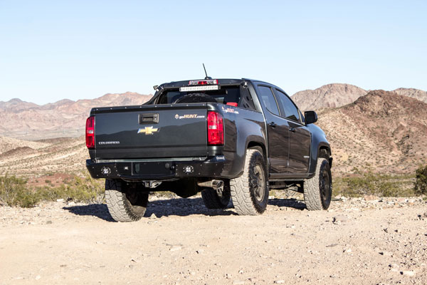 Rogue Racing 111715-92-02-NS |  Chevy Colorado Revolover Rear Bumper 2015-17+ w/o Factory Sensors; 2015-2017