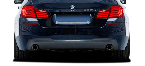 Vaero 112029: 2011-2016 BMW 5 Series 535i F10 4DR Vaero M Sport Look Rear Bumper Cover ( with PDC ) - 2 Piece