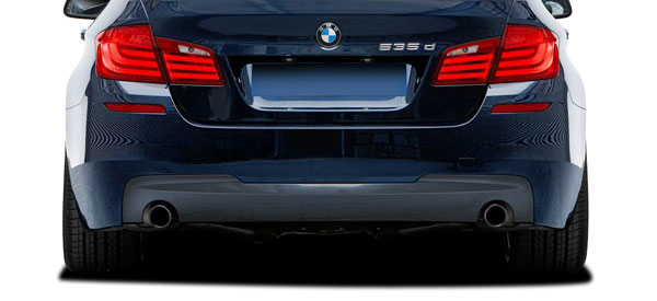 Vaero 112030 | 2011-2016 BMW 5 Series 535i F10 4DR Vaero M Sport Look Rear Bumper Cover ( without PDC ) - 2 Piece