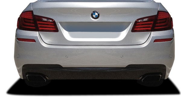 Vaero 112031: 2011-2016 BMW 5 Series 550i F10 4DR  M Sport Look Rear Bumper Cover ( with PDC ) - 2 Piece