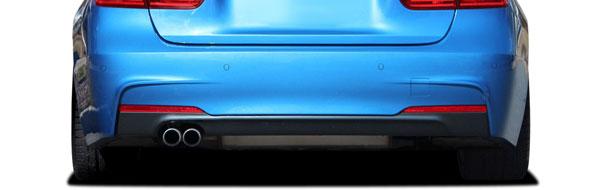 Vaero 112035   BMW 3 Series 328i F30 Vaero M Sport Look Rear Bumper Cover ( with PDC ) 2-Piece; 2012-2016