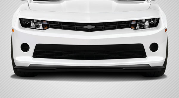 Carbon Creations 112230 | Chevrolet Camaro V6 Carbon Creations GM-X Front Lip Under Air Dam Spoiler 1-Piece; 2014-2015
