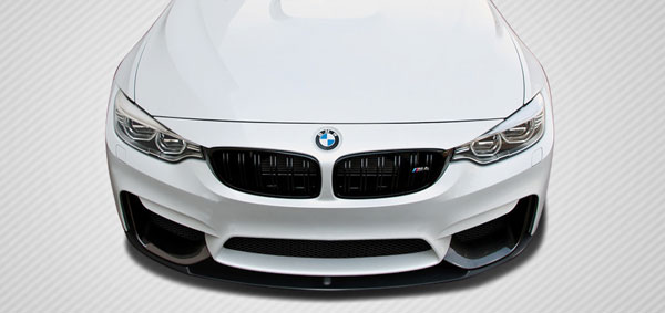 Carbon Creations 112244: 2014-2016 BMW M3 F80 / F82 - F83 M4 Carbon Creations M Performance Look Front Splitter - 1 Piece