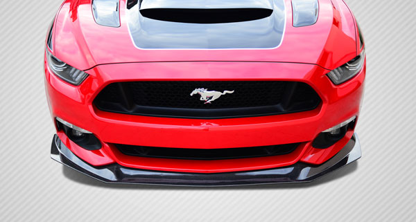 Carbon Creations 112248 | 2015-2016 Ford Mustang Carbon Creations GT Concept Front Lip Under Air Dam Spoiler - 1 Piece