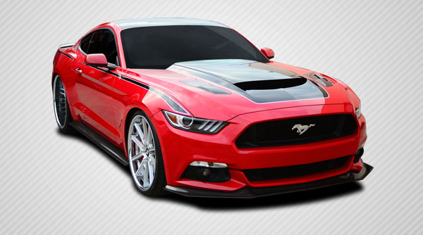 Carbon Creations 112254: 2015-2016 Ford Mustang Carbon Creations GT Concept Body Kit - 4 Piece