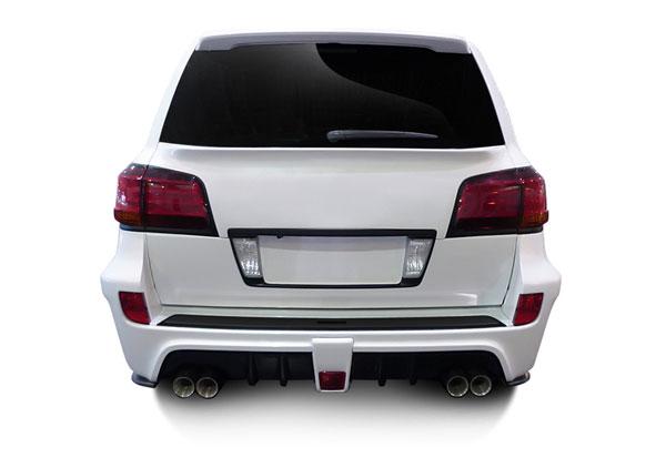 Aero Function 112292 |  2008-2015 Lexus LX570 AF-1 Wide Body Rear Bumper Cover ( GFK ) - 1 Piece