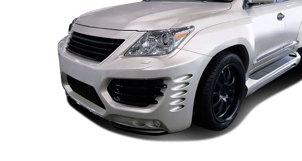 Aero Function (112294)  2008-2015 Lexus LX570 AF-1 Wide Body Front Fenders ( GFK ) - 2 Piece