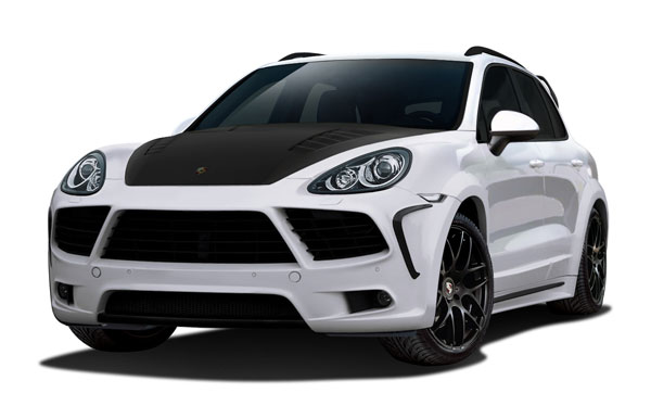 Aero Function 112308:  2011-2014 Porsche Cayenne AF-4 Wide Body Kit ( GFK ) - 18 Piece