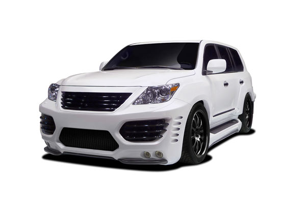 Aero Function (112311)  2012-2015 Lexus LX570 AF-1 Wide Body Kit ( GFK PUR-RIM ) - 28 Piece