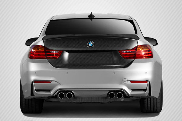 Carbon Creations 113150: 2014-2016 BMW 4 Series / M4 Carbon Creations DriTech M4 Look Trunk Lid - 1 Piece