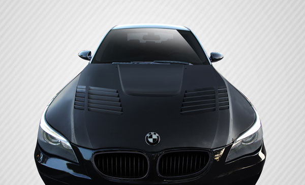 Carbon Creations 112332: 2004-2010 BMW 5 Series E60 4DR Carbon Creations GT-R Look Hood - 1 Piece