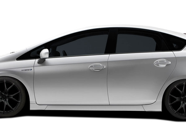 Couture 112373 | Toyota Prius Couture Vortex Side Skirt Rocker Panels 4-Piece; 2010-2015