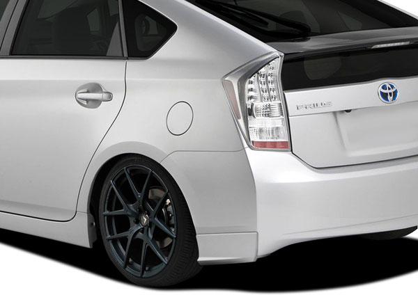 Couture 112374 | Toyota Prius Couture Vortex Rear Add Ons 2-Piece; 2010-2015