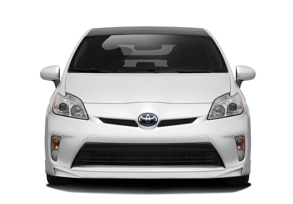 Couture 112376: 2012-2015 Toyota Prius Couture Vortex Front Lip Under Air Dam Spoiler - 1 Piece