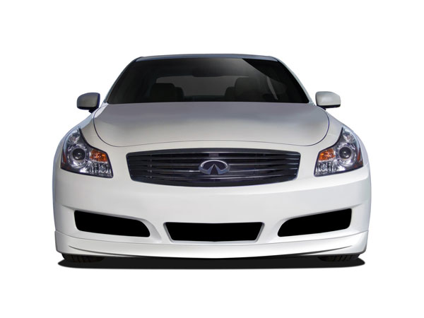 Couture 112381 | Infiniti G Sedan Couture Vortex Front Lip Under Air Dam Spoiler 1-Piece; 2007-2009