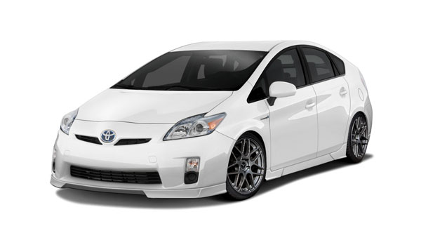 Couture 112390: 2010-2011 Toyota Prius  Vortex Body Kit - 8 Piece
