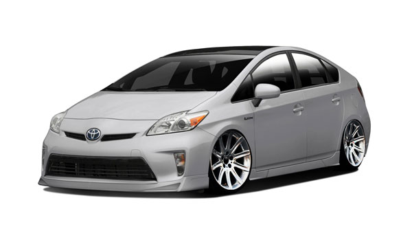 Couture 112391: 2012-2015 Toyota Prius  Vortex Body Kit - 7 Piece