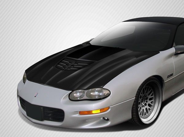 Carbon Creations 113151: 1998-2002 Chevrolet Camaro  DriTech Stingray Z Hood- 1 Piece
