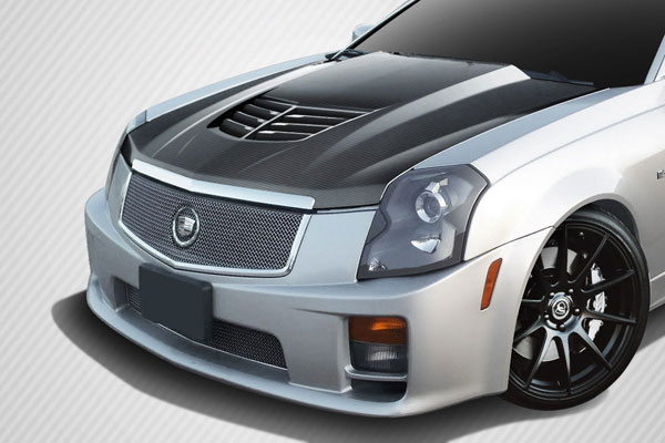 Carbon Creations (113153) 2003-2007 Cadillac CTS Carbon Creations DriTech Stingray Z Hood- 1 Piece