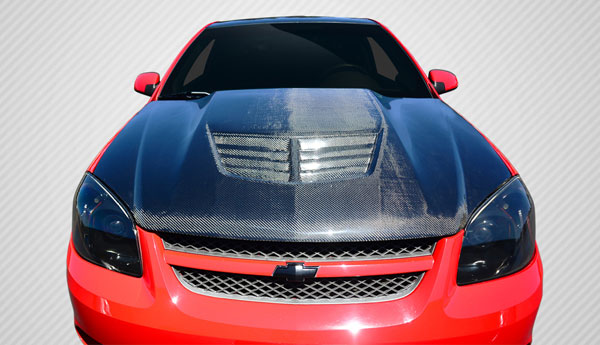 Carbon Creations 112418: 2005-2010 Chevrolet Cobalt / Pontiac G5 Carbon Creations Stingray Z Hood- 1 Piece