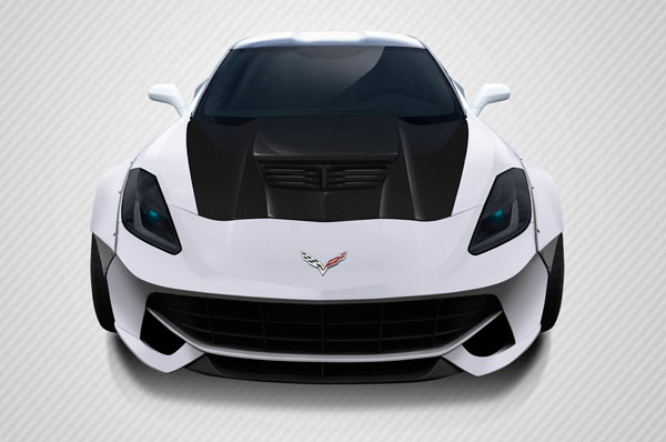 Carbon Creations (113155) 2014-2016 Chevrolet Corvette Carbon Creations DriTech Z06 Look Hood- 1 Piece