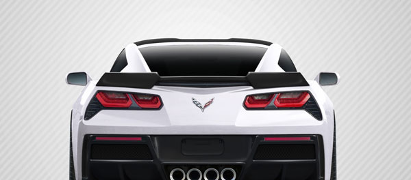 Carbon Creations 113157: 2014-2016 Chevrolet Corvette C7 Carbon Creations DriTech Gran Veloce Wing- 1 Piece