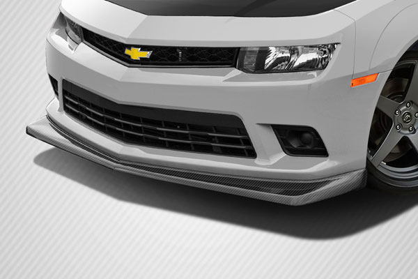 Carbon Creations 113164: 2014-2015 Chevrolet Camaro  DriTech Z28 Look Front Lip Under Air Dam Spoiler (non flare, will fit normal body vehicles) - 1 Piece